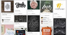 30+ Stunning Typography Boards to Follow  Daniel Bear Hunley | Typography | 316 pins