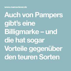 Auch von Pampers gibt's eine Billigmarke – und die hat sogar Vorteile gegenüber den teuren Sorten