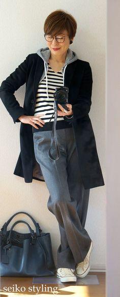 骨格タイプ「ストレート」ワイドパンツをどう取り入れる? | 服を変えれば、生き方が輝く!私がはじまるファッションコーデ