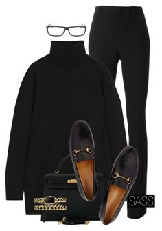 """Unbenannt #3758"" by saskiasnow ❤ liked on Polyvore featuring Gucci, Hermès and Chanel"