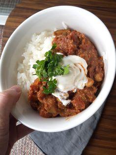 Chili sin Carne, Low fodmap, Glutenfri