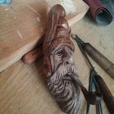 wood spirit pipa di nonsolotrucioli su Etsy