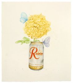 Aurel Schmidt: Florid Reveries  The New York Hyper Realist Goes Floral with Her Dainty Colored Pencil Drawings