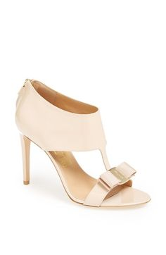 Salvatore Ferragamo 'Pellas' Suede Sandal available at #Nordstrom