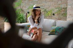 Making Of: Preview Verão 2014 Marcia Mello. #moda #fashion #estampas #acessorios #verao #marciamello   #maquiagem #makeup #brincos #anel #chapeu
