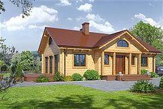 Projekt domu Chmielów 94,74 m2 - koszt budowy - EXTRADOM Home Fashion, Cabin, House Styles, Home Decor, Decoration Home, Room Decor, Cabins, Cottage, Home Interior Design