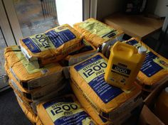 @F. Ball and Co. Ltd. just a few bags of screed!!!
