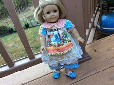 American Girl Waldorf doll clothes....shabby by judysdollboutique