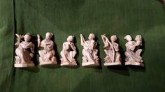 Ivory chinese statues circa 1880