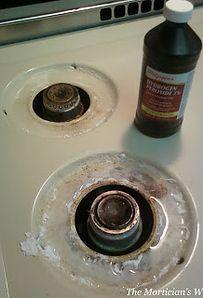 Quemadores de la estufa | Cómo limpiar absolutamente (casi) todas y cada una de las cosas