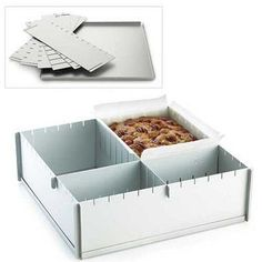 Silverwood 2 Foldaway Cake Pan Dividers - From Lakeland