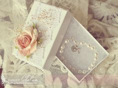 Crafting Life's Pieces: Baby's christening bracelet