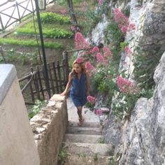 So many stairs in Positano! http://www.giadaweekly.com Giada De Laurentiis