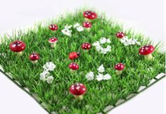 Toad Stool Grass Table Mats