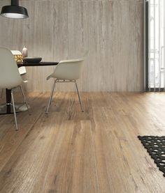 Naturalne usłojenie drewna można idealnie odwzorować na płytce ceramicznej. Dzieki temu wnętrza nabierają naturalnego \\\\\\\\\\\\\\\