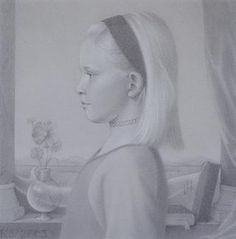 Koo Schadler: Portfolio: Silverpoint Portraits Silverpoint, Moving To California, Museum Of Fine Arts, Art History, Illustration Art, Artsy, Tempera, Drawings, Masters