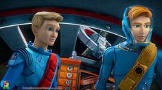 """Thunderbirds Are Go 101 / 102 """"Ring of Fire"""" - New Series Go Tv, Thunderbirds Are Go, New Series, Old Pictures, The Guardian, Picture Video, Tv Shows, Marvel, Fire"""