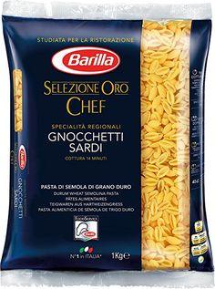 Barilla Pasta Nudeln Selezione Oro Chef Gnocchetti Sardi, 3er Pack (3 x 1 kg)