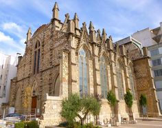 Church of Sant Joan Baptista, Reus, Tarragona, Spain.  #ToHellAndBack #MariaRosaAuthor #Spain #travel #EU #Europe #church #SantJoanBaptista #Reus #Tarragona #architecture #photography #Catholic