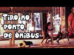 PEGADINHA: Tiro no ponto de ônibus  (Shooting at the bus stop Prank)