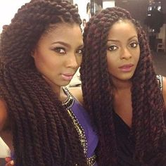 This Gallery has 20 of the hottest Jumbo Marley Twists styles found on Pinterest