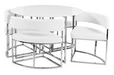 Noir extending dining table 4 chairs hot offers for Four chair dining table set