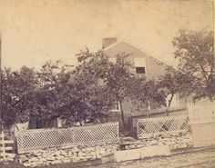 The Jennie Wade House in Gettysburg, PA, circa late 1800s. Built in 1842, this home was witness to the Battle of Gettysburg. Mary Virginia Wade, better known as Jennie Wade, was the only civilian killed during the battle on July 3, 1863 while baking bread for Union soldiers. She was instantly killed by a single bullet that traveled through 2 wooden doors. The house was the residence of her sister, Georgia McClellan, who had given birth on July 1. Discover more history…