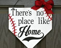 Perfect for your favorite baseball nut! Custom made baseball plate home sign perfect for hanging in entryway or on front door. Baseball Plate, Baseball Bases, Baseball Signs, Sports Signs, Baseball Mom, Baseball Snacks, Baseball Anime, Baseball Stuff, Baseball Photos