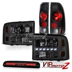 Pin by missouri rideout on ford f150 1997 2003 pinterest ford 99 04 ford superduty crystal headlights rear signal brake lights third cargo led fandeluxe Images