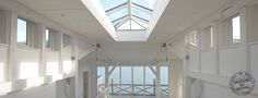 A roof lantern adds light to this seaside property