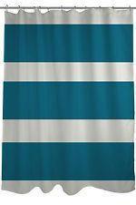 One Bella Casa Helen Striped Shower Curtain