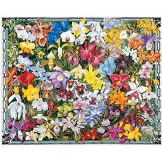 Orchids Jigsaw Puzzle, 1000 pieces - Herrschners