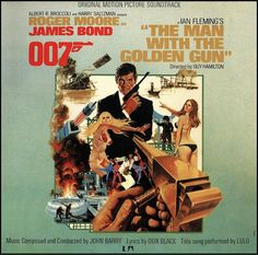 """The Man With The Golden Gun"" (1974, United Artists).  Music from the movie soundtrack.  Contains material by Lulu."