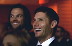 [GIF] Our Boys watching the 200th episode at the 200th Episode Party <3