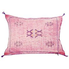 Moroccan Dusty Pink Throw Pillow ($125) ❤ liked on Polyvore featuring home, home decor, throw pillows, pillows, moroccan style home decor, moroccan home decor, moroccan home accessories, inspirational home decor and cactus home decor