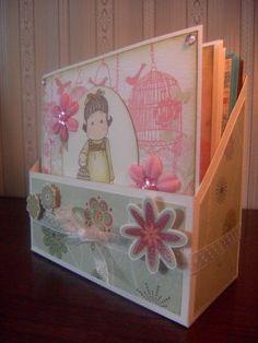Hanna's crafts: Card storage box + template