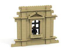 https://flic.kr/p/zAeB2V | Lego building wall window