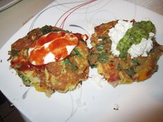 Goth Gourmande: Keto friendly recipes: Low Carb Vegie Fritters