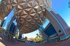 Epcot's Spaceship Earth.
