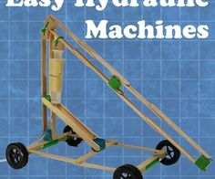 Easy Hydraulic Machines - Kids engineering http://www.instructables.com/id/Easy-Hydraulic-Machines/