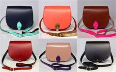 Saddlebag handbags made in UK