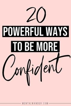 Hold you head high and pick what's left of your self-esteem off the floor, we have some boosting to do. Find out 10 ways to boost your self-esteem. Building Self Confidence, Self Confidence Tips, Building Self Esteem, Confidence Quotes, Confidence Boosters, Body Confidence, Infp, Self Development, Personal Development
