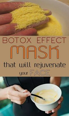 Botox Effect Mask That Will Rejuvenate Your Face Want to give your skin a real lift, without going to an MD? Try this natural face mask to look younger. Homemade Mask, Homemade Beauty, Beauty Care, Beauty Skin, Diy Beauty, Beauty Ideas, Face Beauty, Beauty Hacks For Teens, Natural Beauty Tips