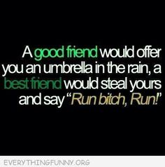 Ohhhhh I could so see this happening with one of us!!  Lol