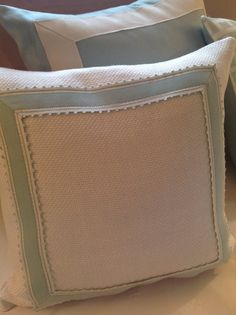 Schumacher Fabrics Down And Feather Banded by TheDesignersAttic, $75.00