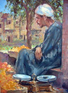 من روائع الفنانين المصريين المعاصريين