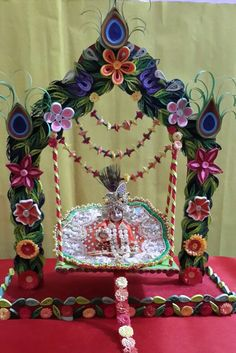jai shri Krishna a swing for lil krishna