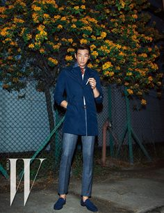 Kim Young Kwang Parade Their Handsomeness In Macau For W Korea's April 2015 Issue