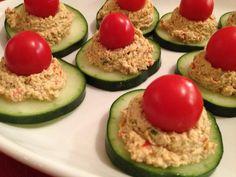 RAW RECIPE: Spicy Cucumber Wheels | Raw Food Betsy