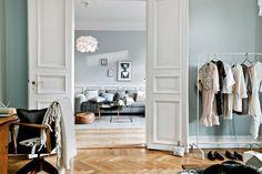 Skandynawskie wnętrza - elegancja Francja?